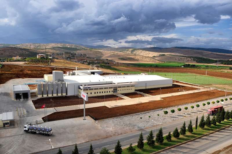 With the Kahramanmaraş Production Facility, the city acquired the first milk production facility.