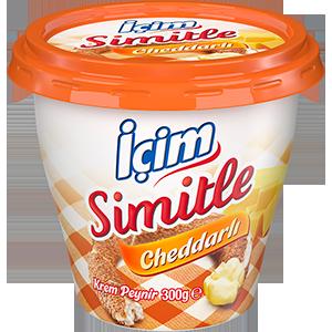 Simitle Cheddarlı Krem Peynir 300g | İçim