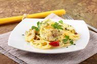Balıklı Spagetti Tarifi