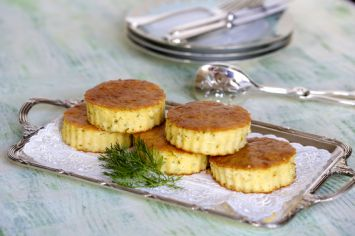 Süzme Peynir & Mısır Unlu Kabak Mücver Tarifi