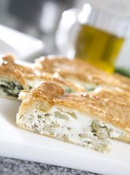Enginarlı & Süzme Peynirli Börek Tarifi