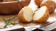 Patatesin pişirme suyuna ...