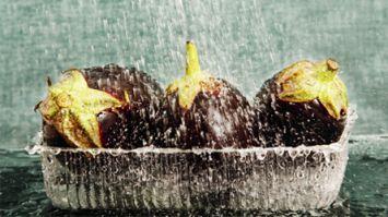 En lezzetli patlıcanlar