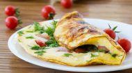 Kabarık omletler için