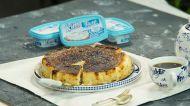 İçim Taze Peynir'li San Sebastian Cheesecake
