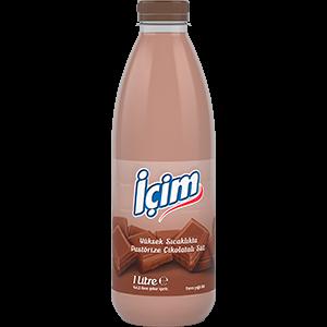 İçim Pet Şişe Pastörize Süt Çikolatalı 1L