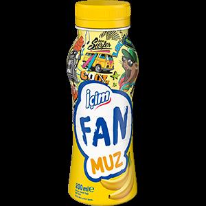 İçim Fan Muzlu 200 ml