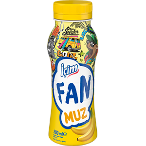 İçim Fan Muz 200 ml