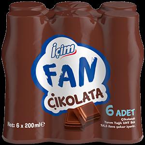 İçim Fan Chocolate<br>6x200 ml