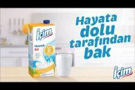 İçim D Vitaminli Süt ile ile Hayata Dolu Tarafından Bak