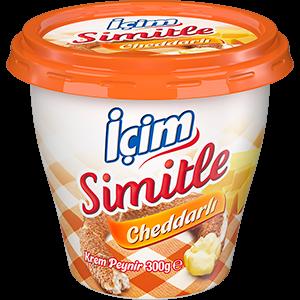Simitle Cheddarlı Krem Peynir 300g