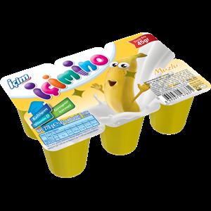 Banana Kids Yoghurt 6x45g