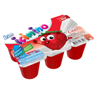 Strawberry Kids Yoghurt 6x45g
