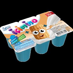 İçim İçimino Baby Biscuit Kids Yoghurt 6x45g
