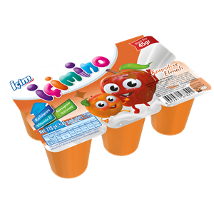 Apricot and Apple Kids Yoghurt 6x45g