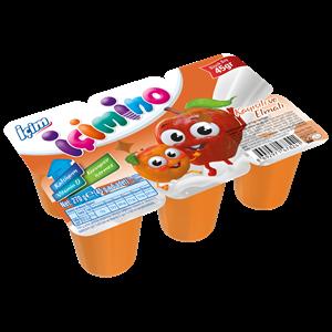 İçim İçimino Apricot and Apple Kids Yoghurt 6x45g
