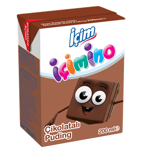 İçimino Chocolate Pudding 200ml