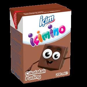İçim İçimino Çikolatalı Puding 200ml