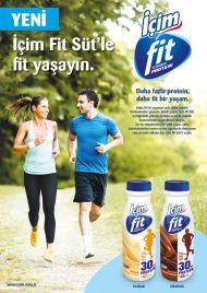 İçim'den Yeni Fit Yaşam Formülü: İçim Fit Süt