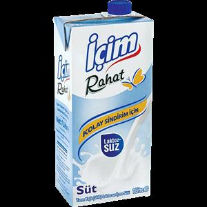 Laktozsuz Süt 1L