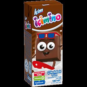 İçim İçimino Çikolatalı Süt 180ml