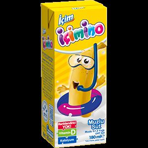 İçimino Banana Milk 200ml