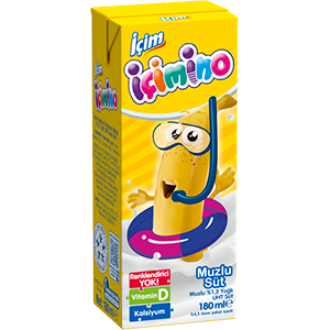 İçim İçimino Banana Milk 180ml