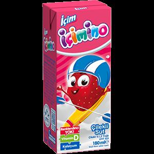 İçim İçimino Strawberry Milk 180ml