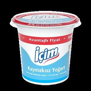 Semi-Skimmed Yogurt 650gr
