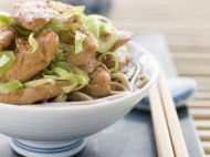 Pırasalı Tavuklu Noodle Tarifi