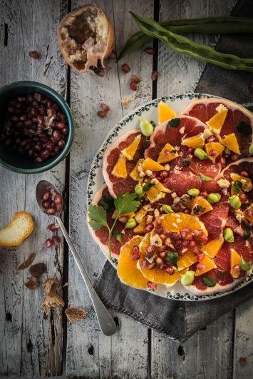 Portakallı Kuruyemiş Salatası Tarifi