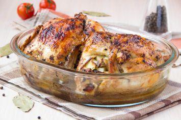 İtalyan Usulü Fırın Tavuk Tarifi