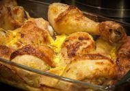 Fırında Sebzeli ve Kaşarlı Tavuk Tarifi