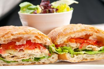İçim Şef Kremalı Tavuk Sandviç Tarifi