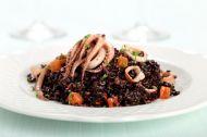 Kalamarlı Pirinç Salatası Tarifi