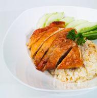Kızarmış Tavuk Dilimleri ve Kestaneli Pilav Tarifi