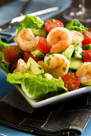 Karidesli Avokado Salatası Tarifi