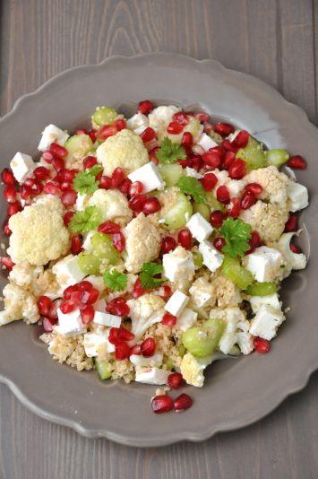 Kuskuslu Nar Salatası Tarifi