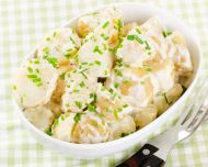 Peynirli Patates Salatası Tarifi