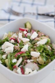 Peynirli Turp Salatası Tarifi