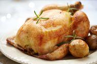 Fırında Ekmek Dolgulu Tavuk Tarifi