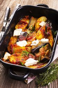 Fırında Patates ve Patlıcan Tarifi