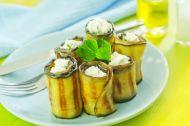 Peynirli Patlıcan Sarma Tarifi