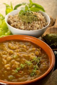 Nohutlu Buğday Çorbası Tarifi
