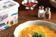 Süzme Beyaz Peynirli Sebze Çorbası Tarifi