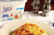 Süzme Beyaz Peynirli Ispanaklı Lazanya Tarifi